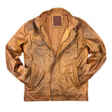Stylish leather jacket Royalty Free Stock Image