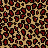 Stylish leopard seamless print. Vector format. royalty free illustration