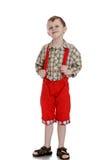 Stylish little boy Stock Image
