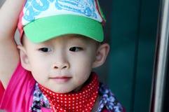 The stylish little boy Stock Image