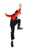 Stylish little dancer Stock Image