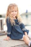 Stylish little girl Stock Image