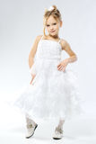 Stylish little girl Royalty Free Stock Photo