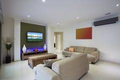 Stylish living area Stock Photo