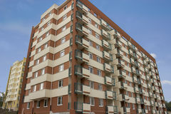 Stylish living block of flats Stock Photography