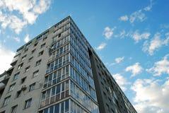 Stylish living block of flats. Real estate Stock Image