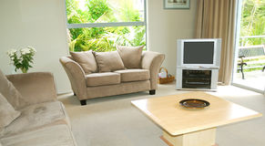 Stylish living room Stock Images
