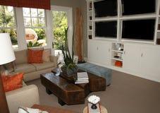 Stylish living room Royalty Free Stock Photo