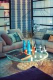 Stylish living room Royalty Free Stock Photos