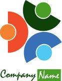 Stylish logo Royalty Free Stock Photography
