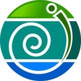 Stylish logo Stock Photo