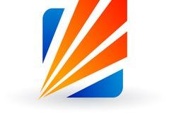 Stylish logo Stock Photography