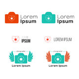 Stylish logo for the photographer Royalty Free Stock Photo