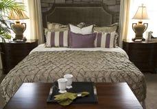 Stylish luxury bedroom. Stock Photo