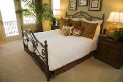 Stylish luxury bedroom. Stock Photos