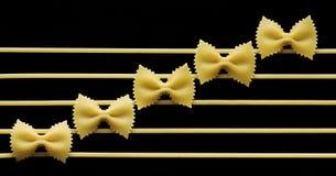 Stylish  macaroni Royalty Free Stock Image