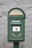 Stylish mailbox in Tallinn Stock Image