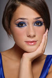 Stylish makeup Royalty Free Stock Image