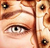 Stylish makeup Stock Photo