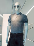 Stylish male display mannequin with sunglasses, Beijing, China Stock Image