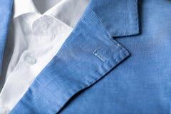 Stylish male suit,. Close up Royalty Free Stock Image