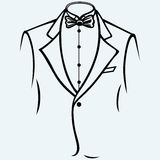Stylish man in elegant suit Royalty Free Stock Photos