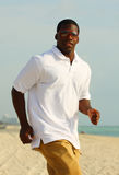 Stylish Man Jogging Stock Photography