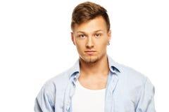 Stylish man in shirt Royalty Free Stock Image