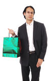 Stylish man shopping Stock Photography