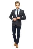 Stylish man wearing suit Stock Photos