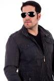 Stylish man wearing sunglasses royalty free stock image