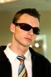 Stylish man wearing sunglasses Stock Photo