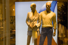 clothing fashion store interiors royalty free stock photos