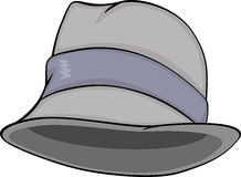 Stylish men hat. Cartoon Royalty Free Stock Photography