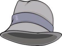 Stylish men hat. Cartoon Royalty Free Stock Photography