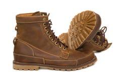 Stylish men's boots Stock Photo