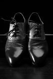 Stylish men's leather shoes Royalty Free Stock Photography
