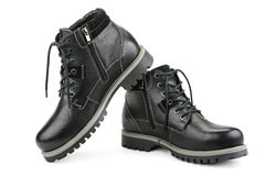 Stylish men's shoes Royalty Free Stock Photo