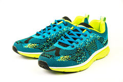 Stylish mens sport shoes Stock Images