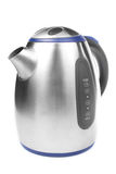 Stylish metal electric kettle Stock Photos