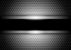 Stylish metallic background Royalty Free Stock Photo