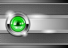Stylish metallic background Stock Photography