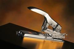 Stylish metallic stapler Stock Images