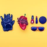 Stylish moder accessories  set Stock Photography