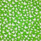 Stylish modern background seamless pattern with  butterflies cut Stock Photos