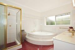 Stylish modern bathoom Royalty Free Stock Photo