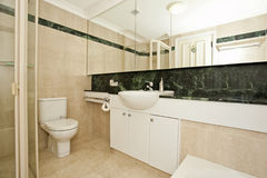 Stylish modern bathoom Stock Image