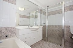 Stylish modern bathoom Stock Photo