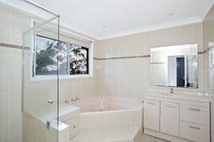 Stylish modern bathoom Royalty Free Stock Photos