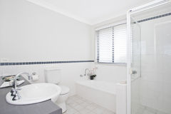 Stylish modern bathoom Royalty Free Stock Images